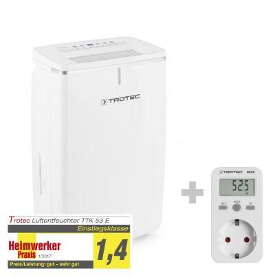 Deumidificatore TTK 53 E+ Misuratore di consumo elettrico BX09
