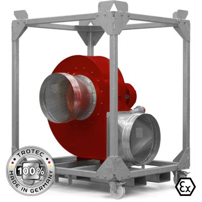 Ventilatore centrifugo TFV 600 Ex