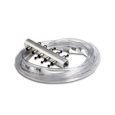 Sistema di attraversamento delle guarnizioni in alluminio con 10 raccordi