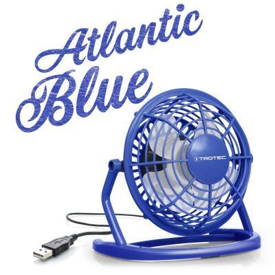 Ventilatore USB TVE 1B Atlantic Blue