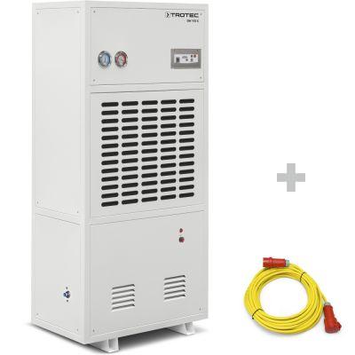 Deumidificatore industriale DH 105 S + Prolunga professionale di 20 m / 400 V / 2,5 mm²