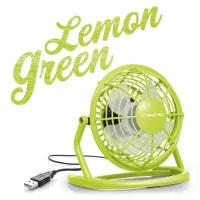 Ventilatore USB TVE 1L Giallo Limone