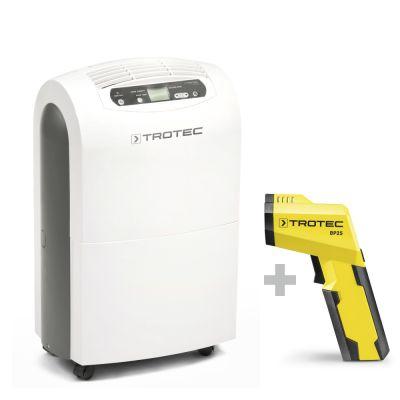Deumidificatore comfort TTK 100 E + Pirometro/Scanner del punto di rugiada BP25