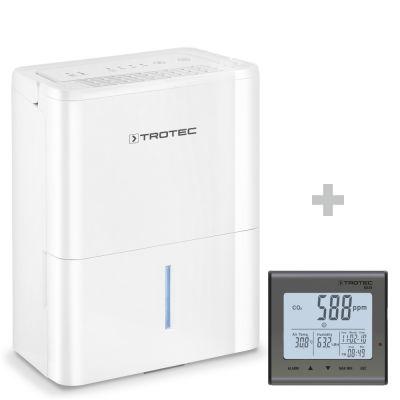 Deumidificatore TTK 32 E + Rilevatore della qualità dell'aria (CO₂) BZ25