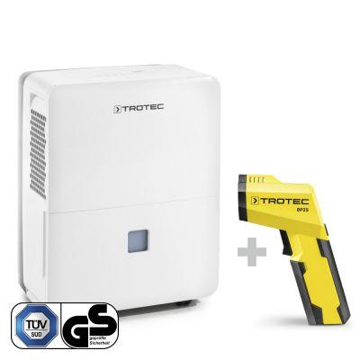 Deumidificatore TTK 96 E+Pirometro-Scanner del punto di rugiada BP25