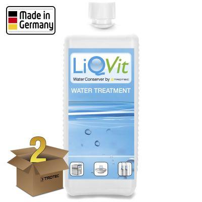 Soluzione igienizzante LiQVit 1000 ml in un pacco da 2 Unità