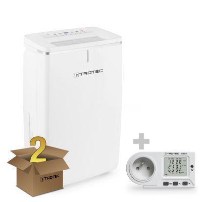 Deumidificatore TTK 53 E pacco da 2 unità+ Misuratore di consumo elettrico BX11