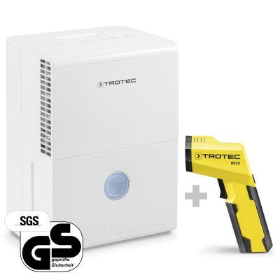 Deumidificatore TTK 28 E + Pirometro-Scanner del punto di rugiada BP25