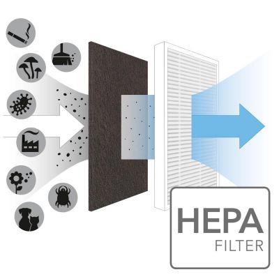 Filtro True HEPA per AirgoClean 10 E