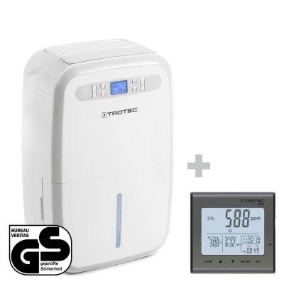 Deumidificatore TTK 95 E + Rilevatore della qualità dell'aria (CO₂) BZ25