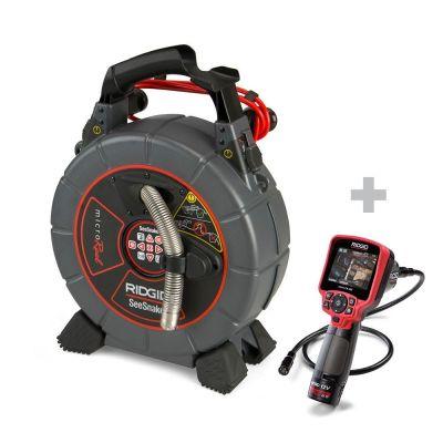Sistema d'ispezione SeeSnake microReel+Telecamera d'ispezione digitale  micro CA-350