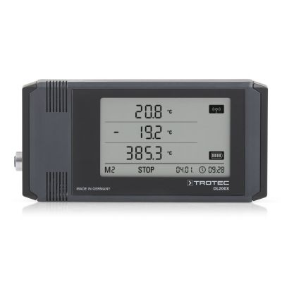 Registratore di dati climatici professionale DL200X  antracite