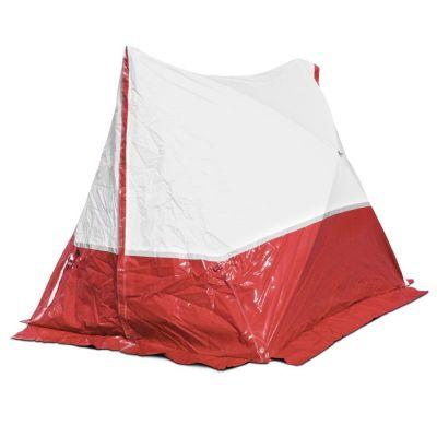 Tenda da lavoro 250 TE 250*200*190 a tetto spiovente in rosso