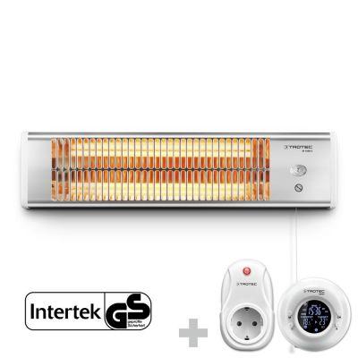 Stufetta a infrarossi IR 1200 S + Cronotermostato senza fili BN35