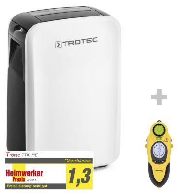 Deumidificatore TTK 71 E + Wallscanner BI15