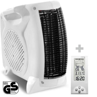 Riscaldatore elettrico TFH 19 E + Termoigrometro BZ06