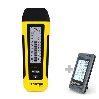 Misuratore di umidità BM22 + Termoigrometro BZ05