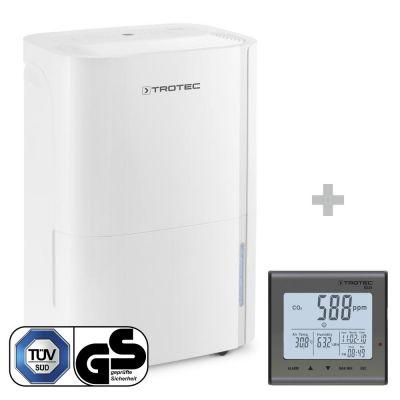 Deumidificatore TTK 66 E + Rilevatore della qualità dell'aria (CO₂) BZ25