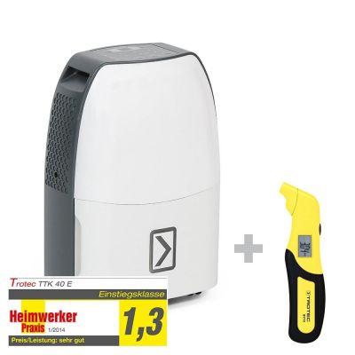 Deumidificatore TTK 40 E + Misuratore di pressione per pneumatici BY10