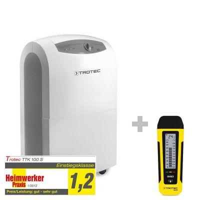 Deumidificatore TTK 100 S + Misuratore di umidità BM22