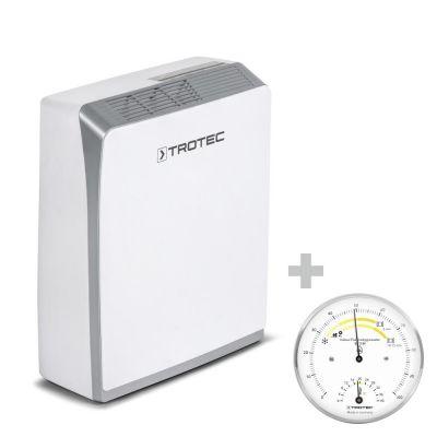 Deumidificatore ad adsorbimento TTR 56 E + Termoigrometro BZ15M
