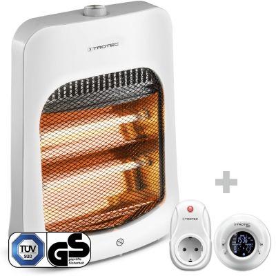 Stufetta a raggi infrarossi IRS 800 E + Cronotermostato senza fili BN35