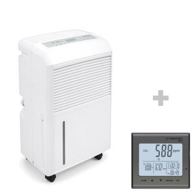 Deumidificatore TTK 90 E + Rilevatore della qualità dell'aria (CO2) BZ25