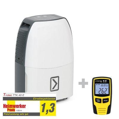 Deumidificatore TTK 40 E + Registratore di dati climatici BL30