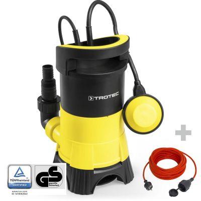 Pompa a immersione per acque scure TWP 4025 E + Prolunga di alta qualità 15 m / 230 V / 1,5 mm²