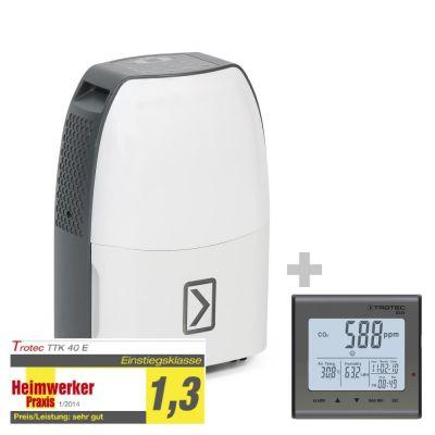 Deumidificatore TTK 40 E + Rilevatore della qualità dell'aria BZ25