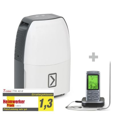 Deumidificatore TTK 40 E + Termometro da barbecue BT40