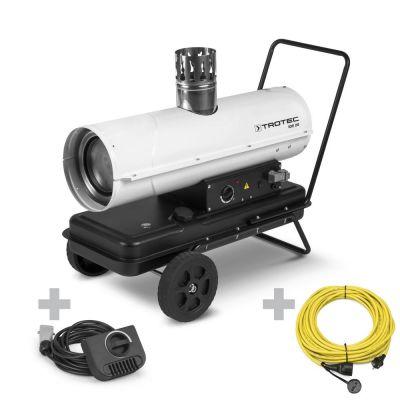 Generatore d'aria calda indiretto IDE 20 + Termostato esterno e cavo di prolunga