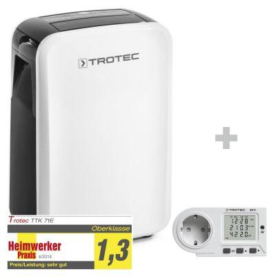 Deumidificatore TTK 71 E + Misuratore del consumo energetico BX11
