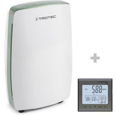 Deumidificatore TTK 68 E + Rilevatore della qualità dell'aria (CO2) BZ25